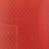 【CAINZ DASH】TRUSCO 高輝度反射シート カプセルレンズ型 455mmX227mm 赤