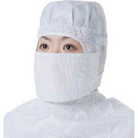 【CAINZ DASH】TRUSCO 共布制電子グリッド仕様マスク ブルー (1枚入り)