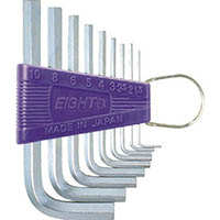 【CAINZ DASH】エイト 六角棒スパナ 標準寸法 セット