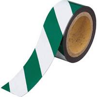 【CAINZ DASH】TRUSCO マグネット反射シート 緑・白 180mmX10m