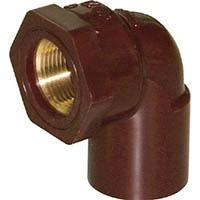 【CAINZ DASH】クボタケミックス HTメタル給水栓エルボ HT−MWL 25