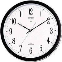 【CAINZ DASH】シチズン ネムリーナM691F(電波掛時計)プラスチック枠シルバーメタリック
