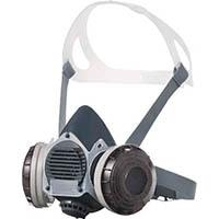 【CAINZ DASH】シゲマツ 防塵マスク(伝声器付)U2Wフィルタ使用