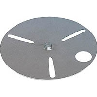 【CAINZ DASH】つくし 単管用全周型金具用回転灯受皿