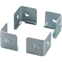 【CAINZ DASH】TRUSCO セミボルトレス軽量棚 中段金具 4個入