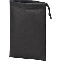 【CAINZ DASH】TRUSCO 不織布巾着袋 黒 260X180MM (10枚入)