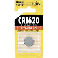 【CAINZ DASH】富士通 リチウムコイン電池 CR1620 (1個=1PK)