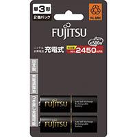 【CAINZ DASH】富士通 ニッケル水素充電池 高容量タイプ 単3 (2本入)
