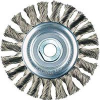 【CAINZ DASH】LESSMANN ホイールブラシ Φ100 高張度鋼線 0.35