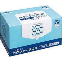 【CAINZ DASH】クレシア カウンタークロス 薄手タイプ ブルー
