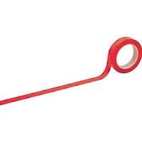 【CAINZ DASH】緑十字 HCPAS−25R CR用帯電防止ラインテープ赤 25mm幅×33m