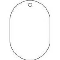 【CAINZ DASH】TRUSCO 白無地板 小判型 5枚組 70X47X2.5厚