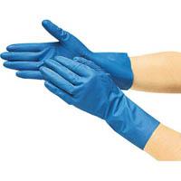 【CAINZ DASH】TRUSCO まとめ買い 耐油耐薬品ニトリル薄手手袋(10双組)Mサイズ