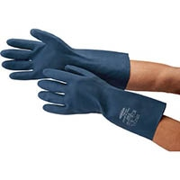 """サミテック 耐油・耐溶剤手袋""""サミテックCR-F-07"""" M ダークブルー 4488"""