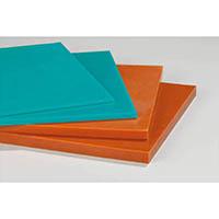 【CAINZ DASH】イノアック ログラン(硬質ウレタンゴム)シートt10×300×300 ブラウン