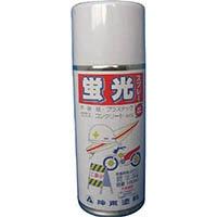 【CAINZ DASH】シントー 蛍光スプレー レッド 180ML