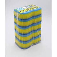 【CAINZ DASH】キクロン キクロンプロ外食産業用スポンジ ブルー (5個入)