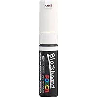 【CAINZ DASH】uni 水性顔料マーカー ブラックボードポスカ 太字 白