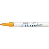 【CAINZ DASH】uni ペイントマーカー油性細字 橙