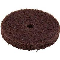 【CAINZ DASH】UHT #1000φ25ホイル型NSL ラップ軸1本付 茶 1Pk(箱)=25枚