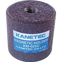 【CAINZ DASH】カネテック 永磁ホルダ ネオジム磁石 外径26mm 円形・ねじ穴あり