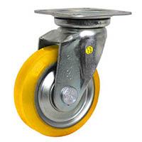 【CAINZ DASH】シシク 静電気帯電防止キャスター ウレタン車輪 自在 130径