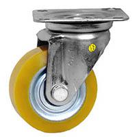 【CAINZ DASH】シシク 静電気帯電防止キャスター ウレタン車輪 自在 75径