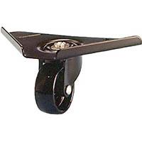 【CAINZ DASH】シシク コーナーキャスター ナイロン車輪 65径 黒