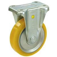 【CAINZ DASH】シシク 静電気帯電防止キャスター ウレタン車輪 固定 150径