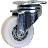 【CAINZ DASH】シシク 低床重荷重用キャスター 自在 100径 GSPO車輪