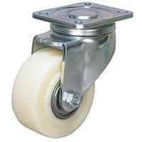 【CAINZ DASH】シシク 低床重荷重用キャスター 自在 80径 GSPO車輪