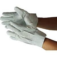 おたふく 牛床革背縫い内綿手袋 LL 480LL