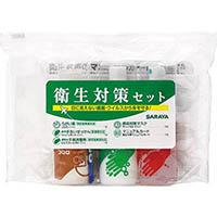 【CAINZ DASH】サラヤ 衛生対策セットN