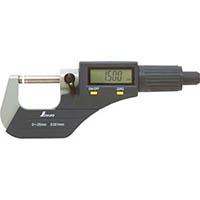 【CAINZ DASH】シンワ デジタルマイクロメータ 0〜25mm