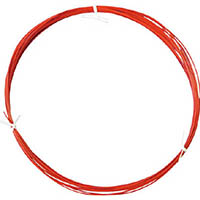 【CAINZ DASH】日星電気 フッソ樹脂絶縁電線 FN−2 赤 10m
