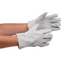 ミドリ安全 牛床革手袋 内縫 MT-151D-W