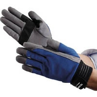 TRUSCO グリッピング人工皮革手袋 X-TGRIP スタンダード M